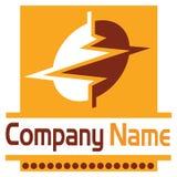Electric power logo Stock Photos