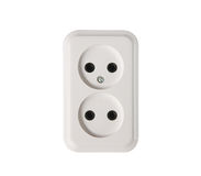 Electric power outlet Royalty Free Stock Photos