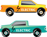 Electric power pickup Stock Photos