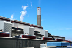 Electric power plant Royalty Free Stock Photos