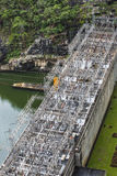Electric Power Plant, Bhumibol Dam in Tak Province, Thailand Stock Photo