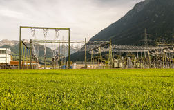 Electric power plant Royalty Free Stock Photography