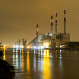Electric Power Plant, New York city Royalty Free Stock Photos