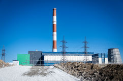 Electric power plant Stock Image
