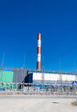 Electric power plant Stock Images