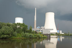 Electric power plant Stock Photography
