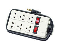 Electric power plug Royalty Free Stock Images