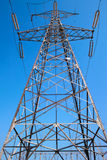 Electric power pole Stock Images