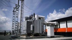 Electric Power-Post De lijnen van de macht
