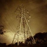 Electric Power si eleva Immagini Stock Libere da Diritti