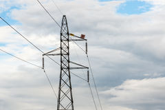Electric power  on  sky at Thailand Stock Photos