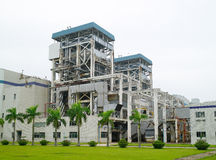 Electric power station Royalty Free Stock Photography