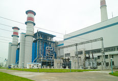 Electric power station. In China Stock Photos