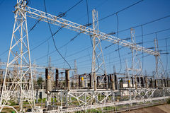 Electric power station Stock Photography