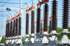 Electric power station Stock Photo