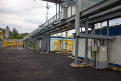Electric power station, outside Stock Photo