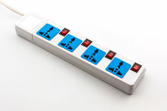 Electric power strip. Stock Photo