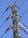 Electric Power Switch Tower 1 Stock Photography