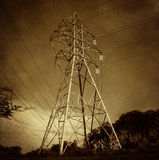 Electric Power Tower Royalty Free Stock Images