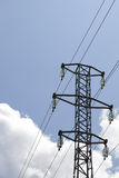 Electric power tower Royalty Free Stock Photo
