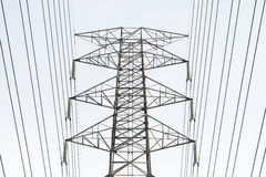 Electric Power Tower Royalty Free Stock Image