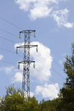 Electric power tower Stock Photography