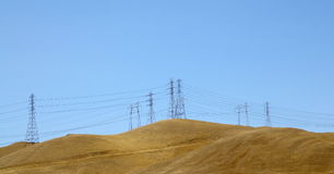Electric Power Towers Stock Images