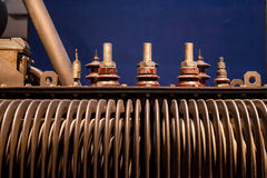 Electric power transformer Royalty Free Stock Image