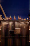 Electric power transformer Stock Image