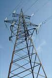 Electric power transmission royalty free stock photos