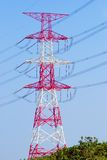 Electric power transmission Stock Photo