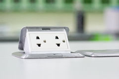 Electric Power verstopfen Lizenzfreie Stockbilder