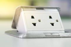 Electric Power verstopfen Stockbilder