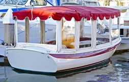 Electric Powered Boat Stock Images