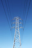 Electric powerlines Royalty Free Stock Photo