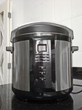 Electric pressure cooker Royalty Free Stock Photos