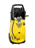 Electric pressure washer Stock Photography