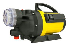 Electric pump for irrigation Stock Photo