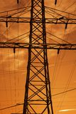 Electric pylon Stock Photos