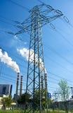 Electric pylon Royalty Free Stock Photography