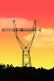 Electric pylon Royalty Free Stock Photos