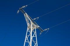Electric pylon Royalty Free Stock Photos