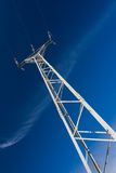 Electric pylon Stock Images
