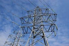 Electric pylon Stock Image