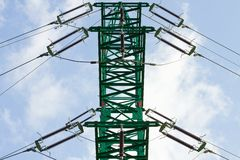 Electric pylon Royalty Free Stock Photography