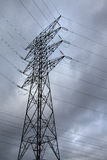 Electric pylon. Image of an electric pylon Royalty Free Stock Image