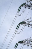 Electric pylon. Image of an electric pylon Royalty Free Stock Photos