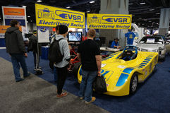 Electric Racing Stock Image