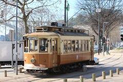 Electric rail Stock Photo