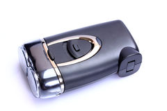 Electric razor shaver full kit Stock Image